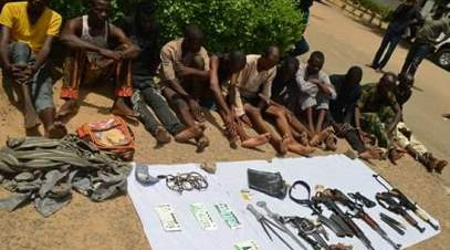 Police Arrest 10 Car Snatchers in Kano .
