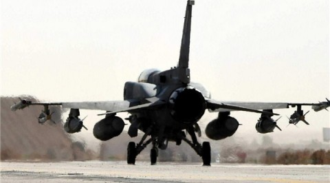 Military aircraft crashes in Yemen