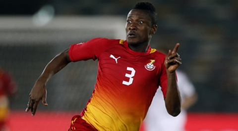 Bad Pitch Not Responsible For Our Loss - Asamoah Gyan