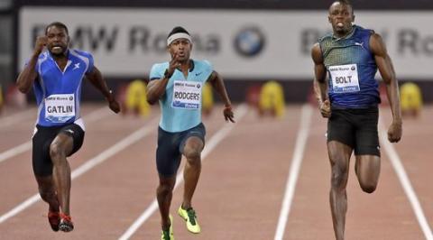 Usain Bolt Beaten By Justin Gatlin In 100m At Diamond League