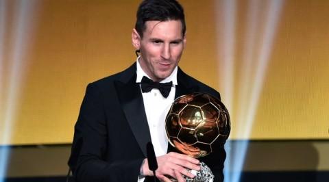 Messi Wins Ballon d'Or Over Cristiano Ronaldo & Neymar