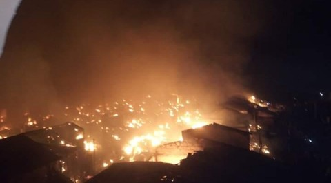 Akesan Fire: Police confirm death one person