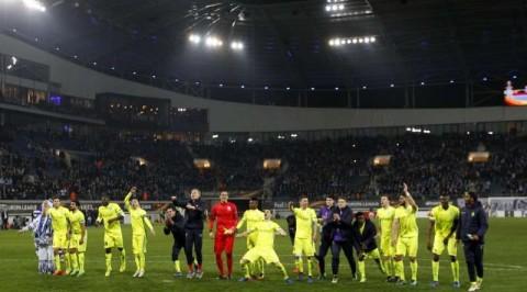 Moses Simon scores, Esiti Shines as Gent knock Spurs of Europa League
