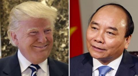 Trump invites vietnam's prime minister
