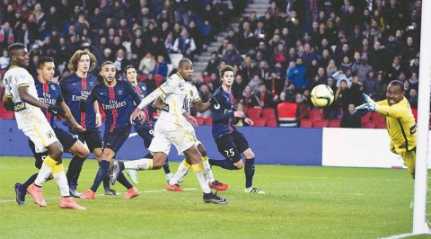 Enyeama makes Unbelievable Save For Lille against PSG