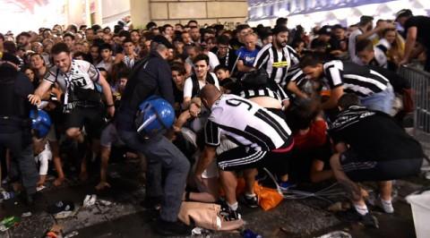 Thousands Juventus fans injured in stampede