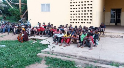 NSCDC Intercept 70 Northerners for Violating Interstate Travel Ban