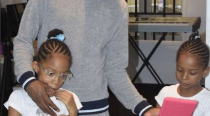 Musician, 9ice shares photos of his kids