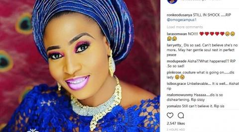 Breast cancer kills Popular Yoruba actress