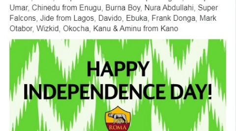 AS Roma, Bayer Leverkusen, Everton congratulate Nigeria