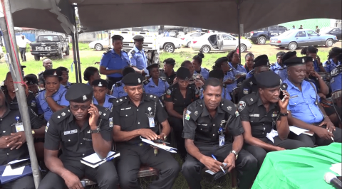 Police medical visit Benue command urges officers and men to register with NHIS