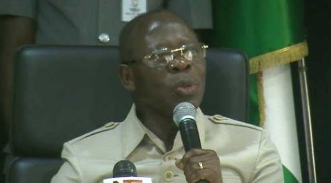 Oshiomole backs FG's border closure