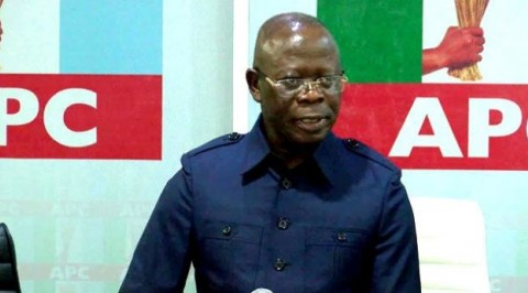 Oshiomhole says Sowore planned to topple Buhari's govt