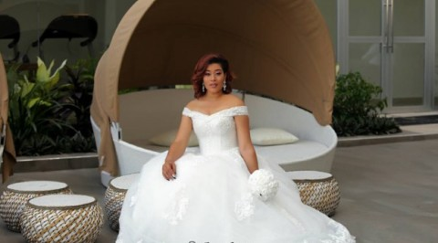 Adunni Ade rocks in bridal outfit (photos)