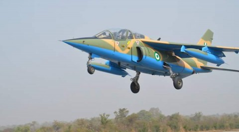 Air force Takes out Several Armed Bandits' Camps