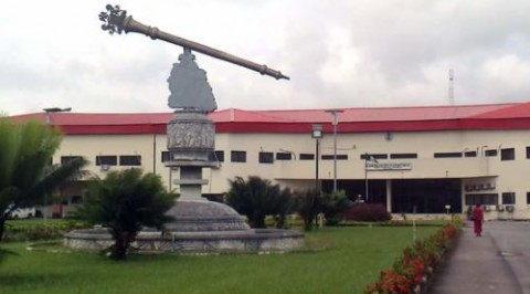 Angry protesters invade Akwa Ibom Assembly