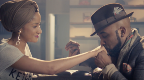 BankyW and Adesua rock matching sneakers