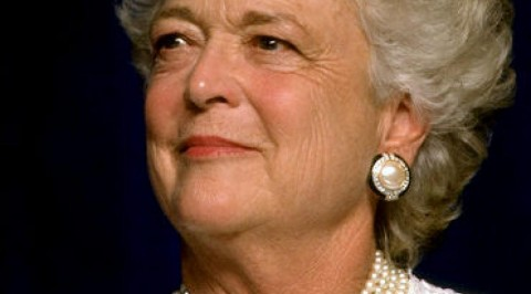 US former first lady passes on