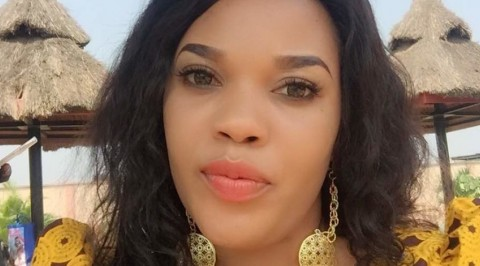 Nigerian lady claims beauty making is like forest!