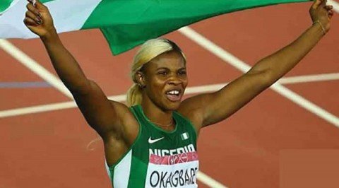 Okagbare faces Miller-Uibo, Thompson in Zurich 200m final