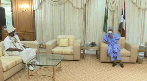 Insecurity: Ooni of Ife Meets Buhari