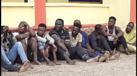 Police Arrest 25 Cultists during Initiation in Ogun