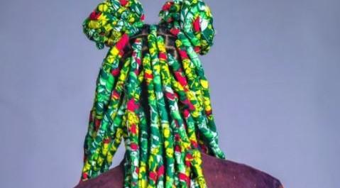 Di'ja rocks ankara braids (photos)