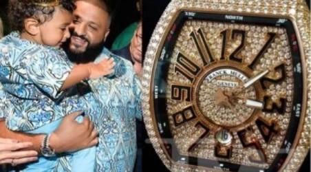 DJ Khaled gifts 1-year-old son a N36m diamond watch