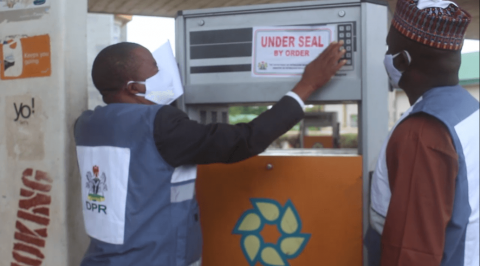 DPR Seals Filling Station for Non-Compliance