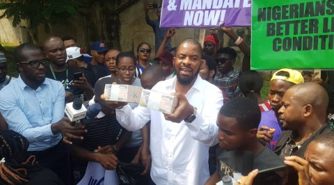 Sowore: we were offered bribe to stop protest - Deji Adeyanju