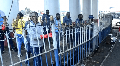 Youths Clean-Up Delta Community after EndSARS  Protest