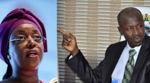 Corruption: EFCC Boss Magu accuses Foreign Partners of Shielding Diezani Alison-Madueke.