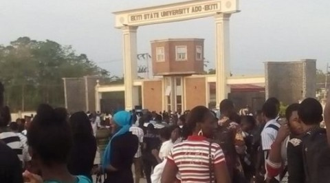 Sacked EKSU Staff Protest, Allege Injustice.