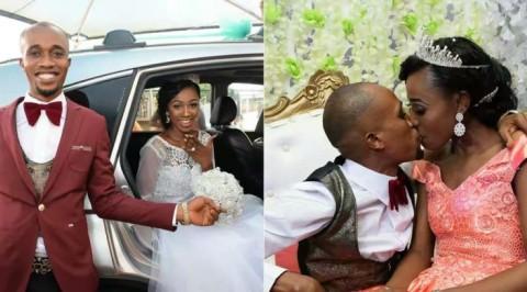 Ex Beauty Christabel Iwuala weds her beau