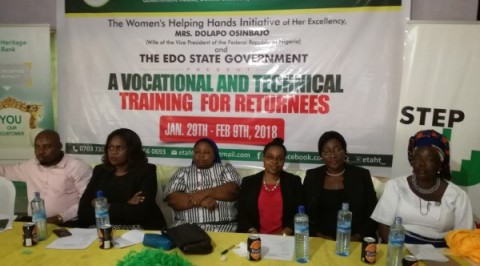 Edo task force train over 500 returnees on different vocation