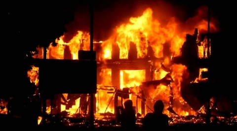 Mystery fire razes home in Anambra community