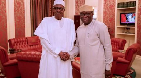 Fayemi visits Buhari