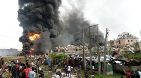 Another Fire Outbreak in Lagos