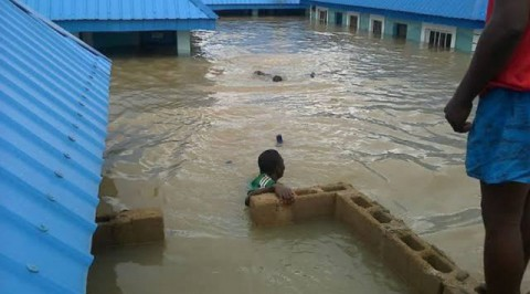 Flood ravages Delta community