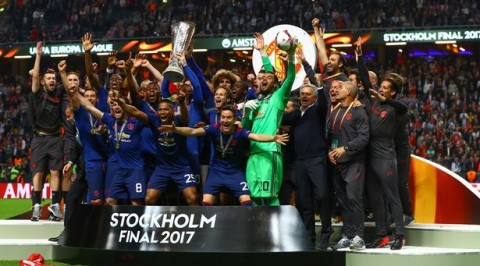 Man Utd beat Ajax to win Europa League
