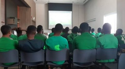 Japan defeat: Garba take Eaglets to classroom