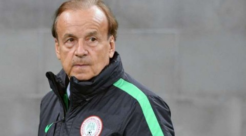 Rohr promises better Eagles' performance against Guinea