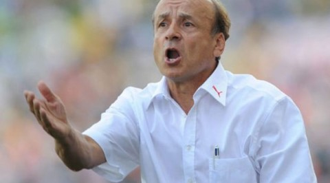 Rohr releases 23 man list for South Africa