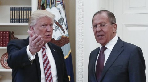 Trump allegedly disclosed secret information to Russia
