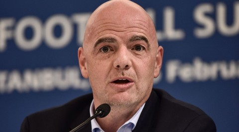 Infantino re-elected FIFA president