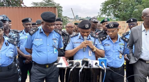 Police parade 29 suspects