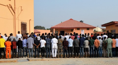 EFCC Arrests 89 suspected Yahoo boys in Ibadan