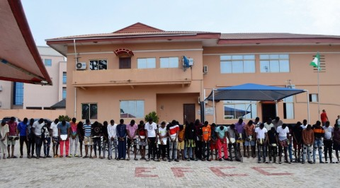 EFCC Nabs 48 Internet Fraudsters in Ogun