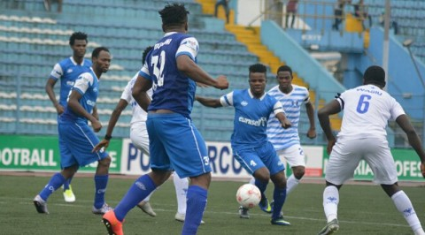 NPFL: Title-Chasing MFM Slip Up Vs 10-Man Rivers United In PH