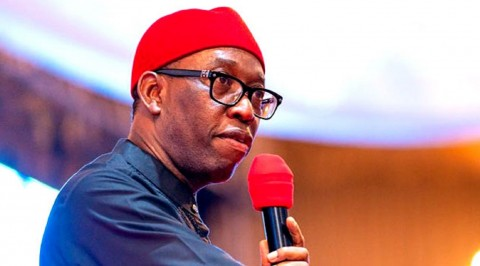 Okowa Describes Corona Virus as Threat to Nigeria Economy